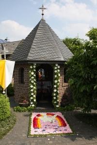 Kapelle mit Teppich