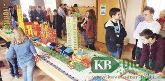 Eine komplette Lego-Stadt wurde von Kindern in Kevelaer gebaut.