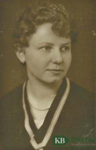 Maria Wackers, geb. van Aaken
