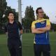 Trainer Marcel Kempkes (l.) und der ehemalige Co-Trainer Goran Rakita konnten auf eine äußerst erfolgreiche Saison zurückblicken. (Foto: jaab)
