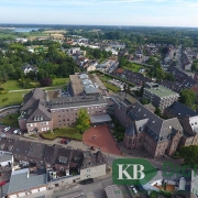 Luftbild vom Marienhospital Kevelaer (Foto: Klinikum)
