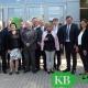 Vertreter der Schulen, der Schulträger und der Kommunalpolitik begleiteten Staatssekretär Mathias Richter bei seiner Besichtigung des Kevelaerer Schulzentrums. (Foto: MaWi)