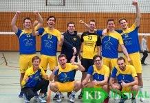 Mannschaftsbild vom KSV I nach dem Erfolg