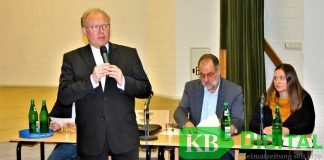Pfarrer Gregor Kauling hatte den Gesprächsabend zum jüngst publik gemachten Vorfall initiiert.