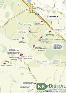 Karte zum Achterhoeker Hoftrödel 2016