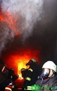 Der Moment der Rauchgasdurchzündung. (Foto: JvdH)