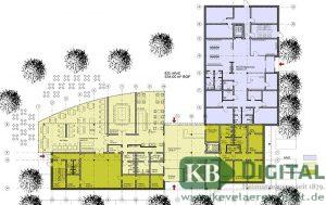 Mögliche Aufteilung des Erdgeschosses. (Grafik: Völling)