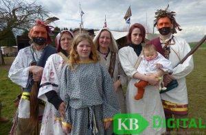 Im Achterhoek trafen sich an Ostern Cowboys und Indianer.(Foto: HvL)