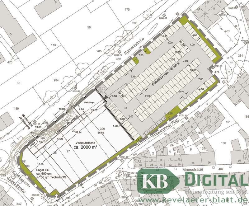 So könnte der Platz künftig aufgeteilt werden. (Grafik: VDH)