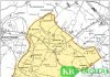 Bereich der Flurbereinigung OW1 (Karte: Geobasis NRW 2020)